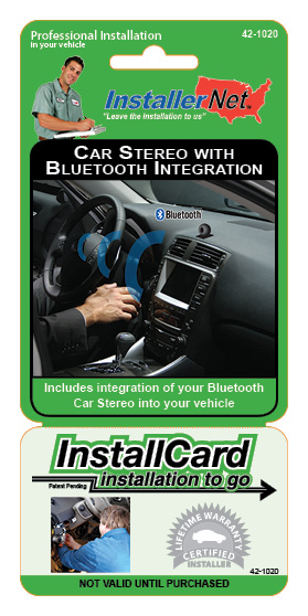 InstallCard Front