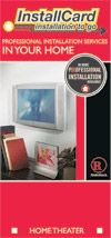 RadioShack Home Installation