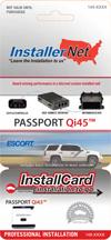Passport Qi45 Radar Detector