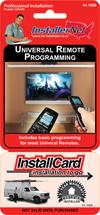 Universal Remote Programming