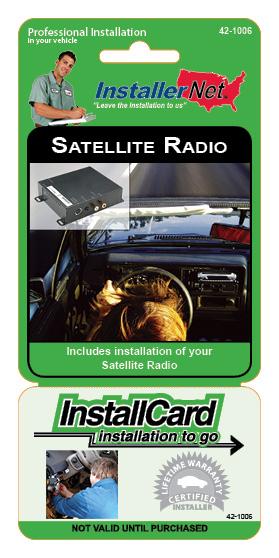 Satellite Radio w/FM Mod