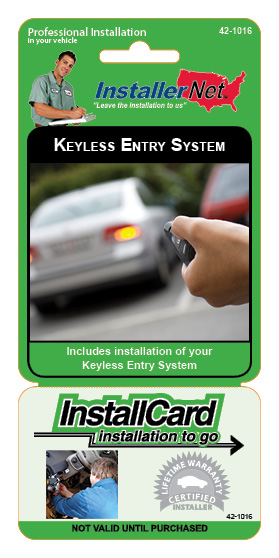 Remote keyless entry