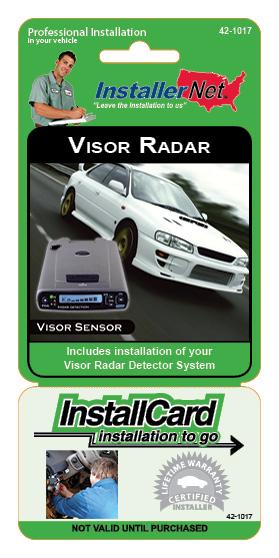 Visor Radar Detector