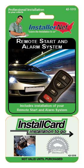Remote Starter & Alarm System