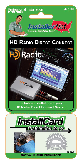 HD radio direct connect