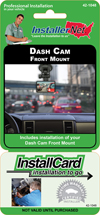 Dash Cam Front Mount
