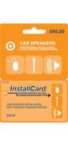 Target Car Speakers
